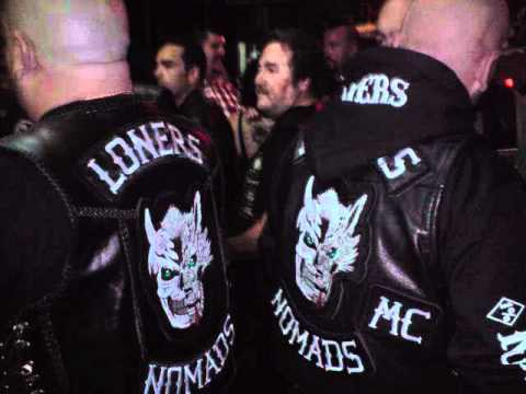 Nomads mc Logo Loners mc Spain Nomads