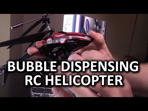 Bubble Dispensing Remote Control Helicopter