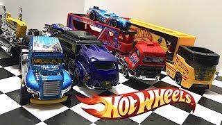 Unboxing Hot Wheels Semi Truck Haulers!