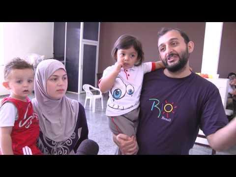 Refugiados sírios no Brasil precisam de ajuda