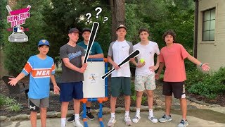 Who Can Make The Best Corked Blitzball Ball Bat?