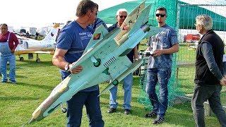 MIG-21 RC SCALE MODEL 6S EDF FOAM JET FLIGHT DEMONSTRATION