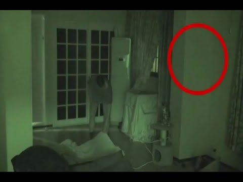 Fantasma captado en vídeo