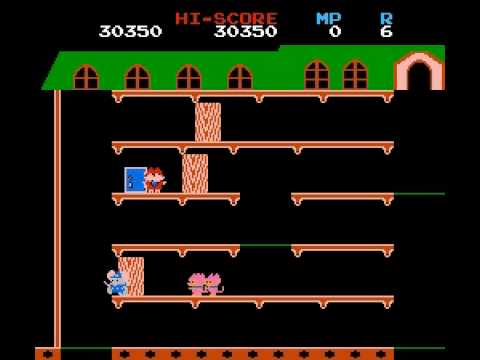 Mappy - Mappy NES - User video