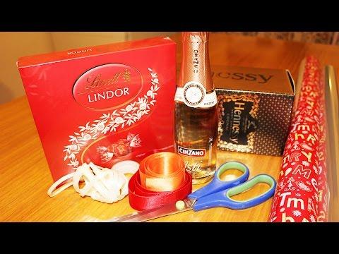 Праздничная упаковка подарков дома! Часть вторая.