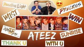 Reacting to Ateez - TREASURE EP. FIN: All To Action (First Album Listen)