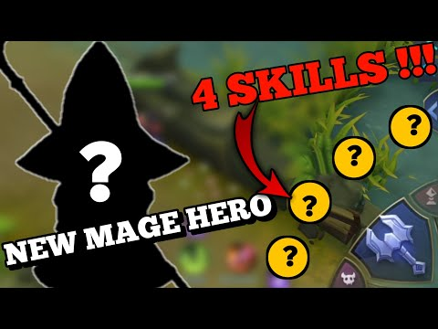 NEW HERO ZHASK WITH 4 SKILLS | SKILLS ONLY | MOBILE LEGENDS