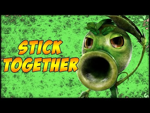 Plants Vs. Zombies - GARDEN WARFARE - STICK TOGETHER [8] (PC)