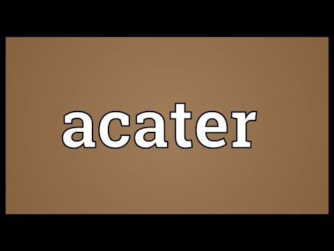 Header of Acater