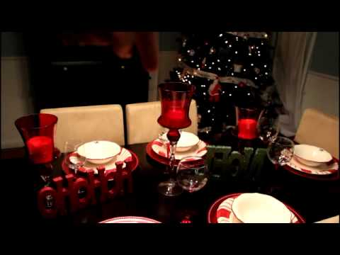 Tour de mi comedor decoraciones de navidad youtube - Adornos de mesa de comedor ...