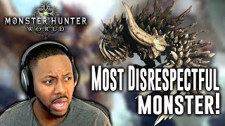 Monster Hunter World ∙ Longsword Build - Most Disrespectful Monster + Random Player Snipe!