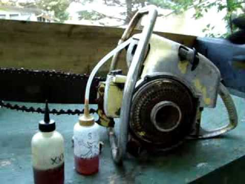 XXX SUPER RAT LUBE ELIXIR SAVES A OLD IEL CHAINSAW FROM THE CRUSHER!