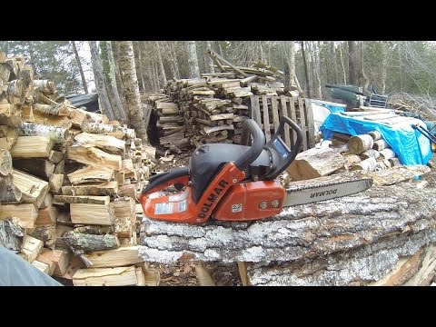 Dolmar PS-421: Easiest to start chainsaw?