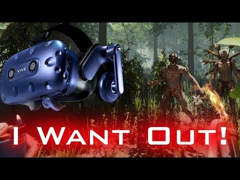 [Live] I WANT OUT! - The Forest In Virtual Reality on the HTC Vive