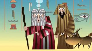 Moses Goes Down To Egypt By Artist Nina Paley