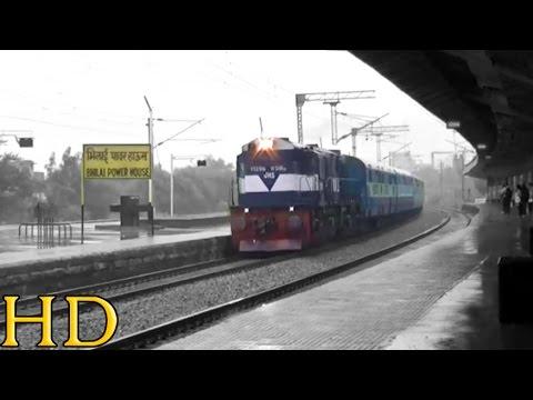 Mega OFFLINK: JHANSI [JHS] WDM-3D Locomotive With 18207 DURG - AJMER Weekly Express
