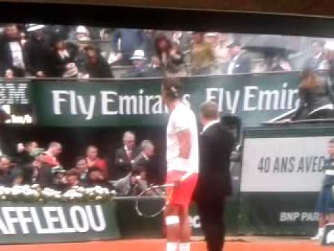 French Open Final Crazy Nude Man Runs On To Court With Flair video