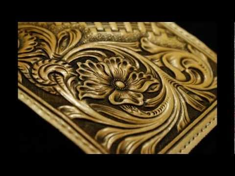 Fire Explorer handcraft leather-手創鞄革工藝/設計/製作 唐草皮雕分享影片 leather craft 手工皮件