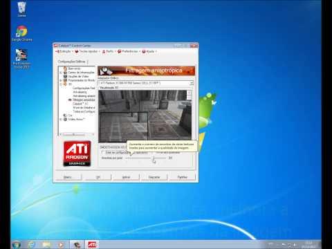 Windows Fail - Configurando as opções 3D de uma placa de vídeo ATI