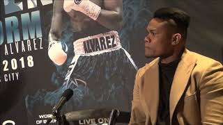 Sergey Kovalev vs Eleider Alvarez Kick off Press Conference