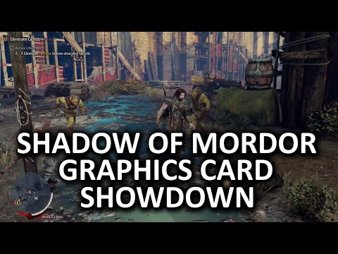 Middle-earth - Shadow of Mordor Graphics Card Showdown & Benchmarking Procedure
