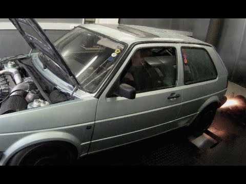 VW Golf MK2 AWD 1013HP