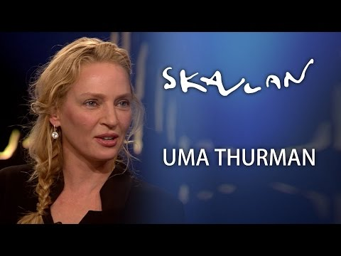Uma Thurman Interview | Skavlan