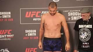 Shogun Rua weighs in for UFC Fight Night Hamburg
