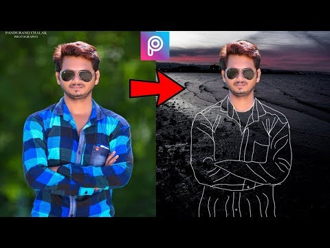 INVISIBLE CLOTH Design Tutorial | Picsart editing tutorial 2018