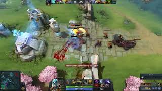 Dady Smurf - pl cancer gamer / Carry / 4v5 / Dota 2 MMR GamePlay / Mission Impossible Achieved
