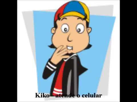 kiko  atende o celular  toque de celular engraçado e antigo mp3