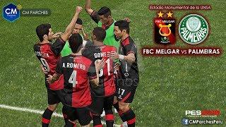 FBC MELGAR vs PALMEIRAS | COPA LIBERTADORES 2019 | PES 2019