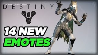 Air Guitar, Face Palm, and More Emotes - Destiny: The Taken King