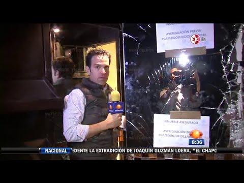 Re-Captura del Chapo | 1N | Operación Cisne Negro  (Enero 2016)