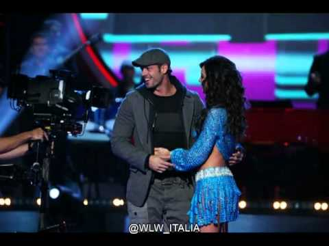 William Levy @willylevy29 en MQB con Elizabeth Gutierrez -- WLW ITALIA