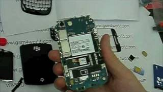 BlackBerry Curve 8520 instructions Guide disassembly assembly tutorial installation REPAIR FIX