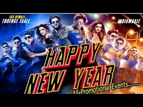 happy New Year Full Movie | Shahrukh Khan | Deepika Padukone | Promotion Events 2014! video