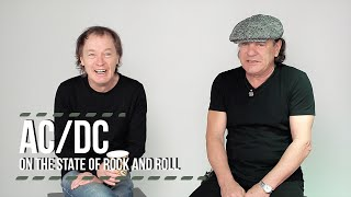 AC/DC Video - AC/DC On The State of Rock and Roll