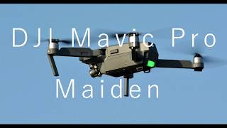New DJI Mavic Pro Maiden Jan 21 2017