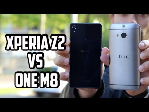 Sony Xperia Z2 vs HTC One M8. comparativa Android