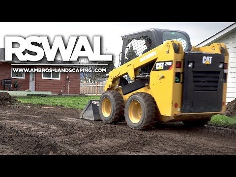 Grading Yard With Skid Steer / Landscaping Install | RSWAL - Ep. 28