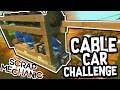 download Scrap Mechanic - CABLE CAR CHALLENGE!! VS AshDubh & Speedy - [#55] | Gameplay
