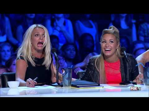 Britney Spears is very scared !!! X Factor US