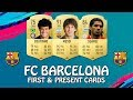 FIFA 19 | FC BARCELONA FIRST AND PRESENT CARDS | w/ Messi, Suarez & Coutinho