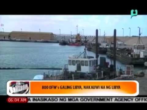 [Balitaan] 800 OFWs galing Libya, nakauwi na ng Pilipinas [08|18|14]