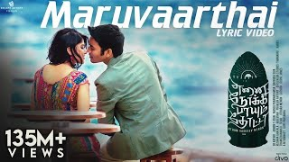Download Maruvaarthai - Single | Enai Noki Paayum Thota | Dhanush | Thamarai | Sid Sriram | Gautham Menon 3Gp Mp4