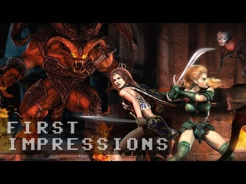 Everquest II Free to Play Gameplay | First Impressions HD