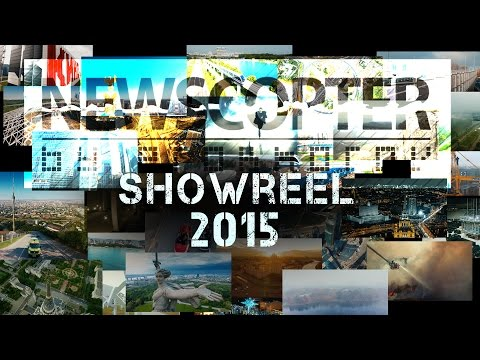 NEWSCOPTER - SHOWREEL 2015 Aerial drone