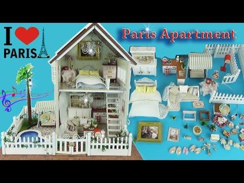 Домик для кукол своими руками с мебелью, посудой Игровой набор для девочек / House Children Toys