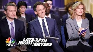 Late Night White House Press Briefing by : Late Night with Seth Meyers